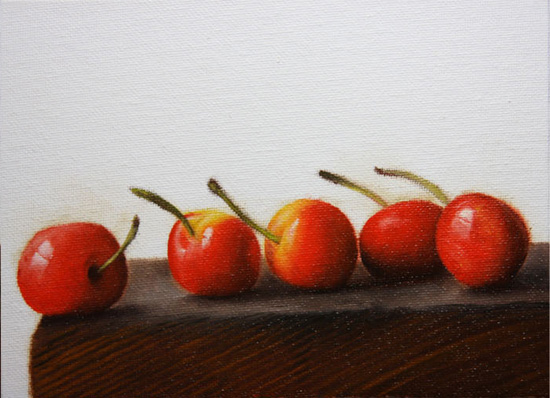 Saving Cherries by Jonathan Aller
