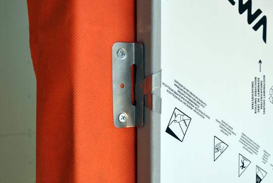 zinc siding clip detail