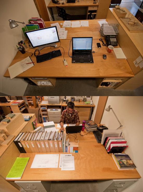 Andrew van Leeuwen's Desk