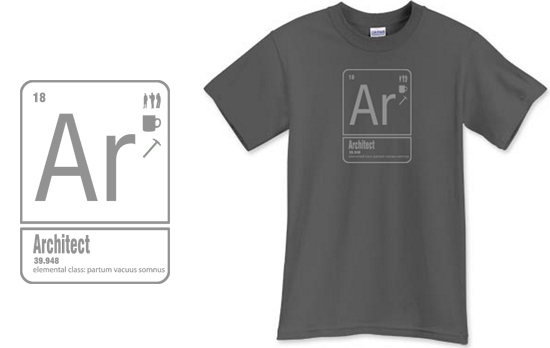 Architect T Shirt from Life of an Architect