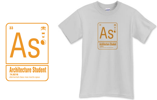 Architecture Student T Shirt from Life of an Architect