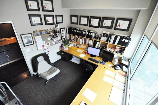 Bob Borson's office