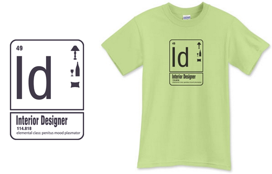 Interior Designer T Shirt from Life of an Architect