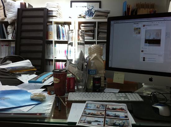 Meredith Heron's Desk