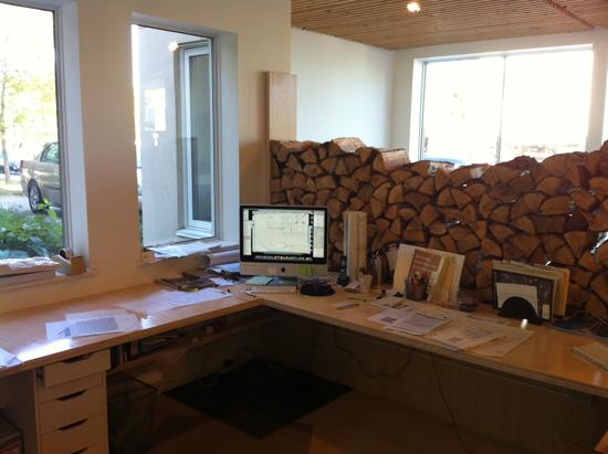 Sean Fright's desk