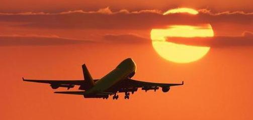 departure airplane