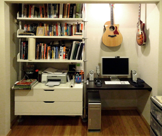 Evan Troxel's Desk