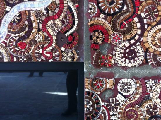 Den mosaic detail