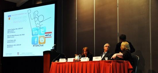 Texas Society of Architects - group presentation with Bob Borson