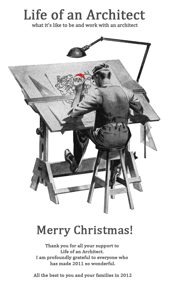 Life of an Architect Christmas Card