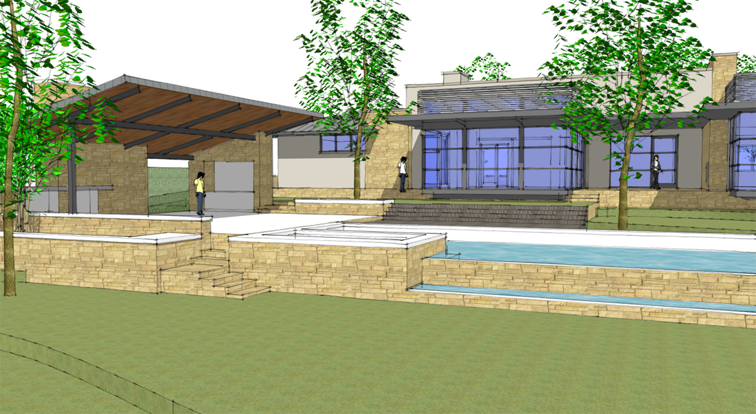 Modern House Project For 2012 Life Of An Architect
