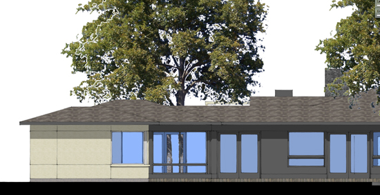 SketchUp South Elevation