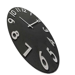 Trippy Wall Clock