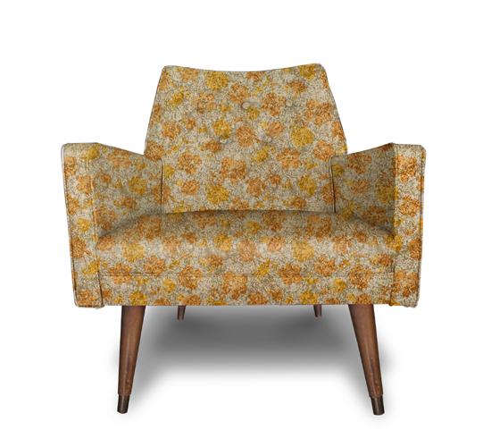 Floral Print chair