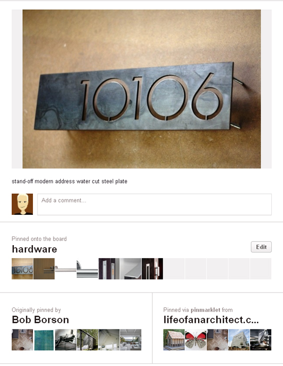 Pinterest Pin from Life of an Architect