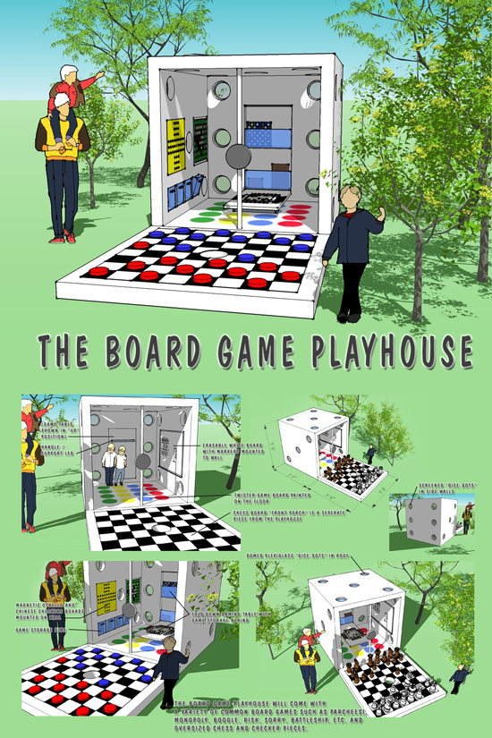 The Board Game by Doug Burke and Steve Johnson