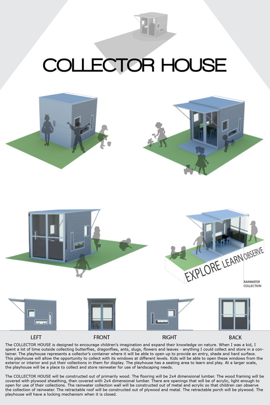 Collector House by Leslie Robinson