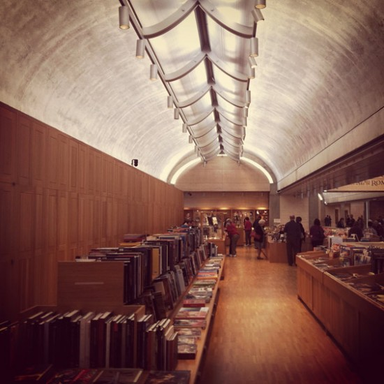 Kimbell Art Museum by Louis Kahn in Fort Worth