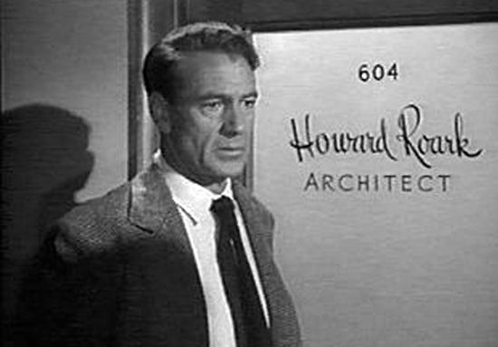 Howard Roark in the Fountainhead