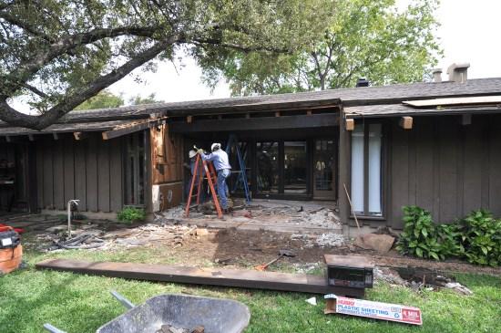 Exterior View Demolition