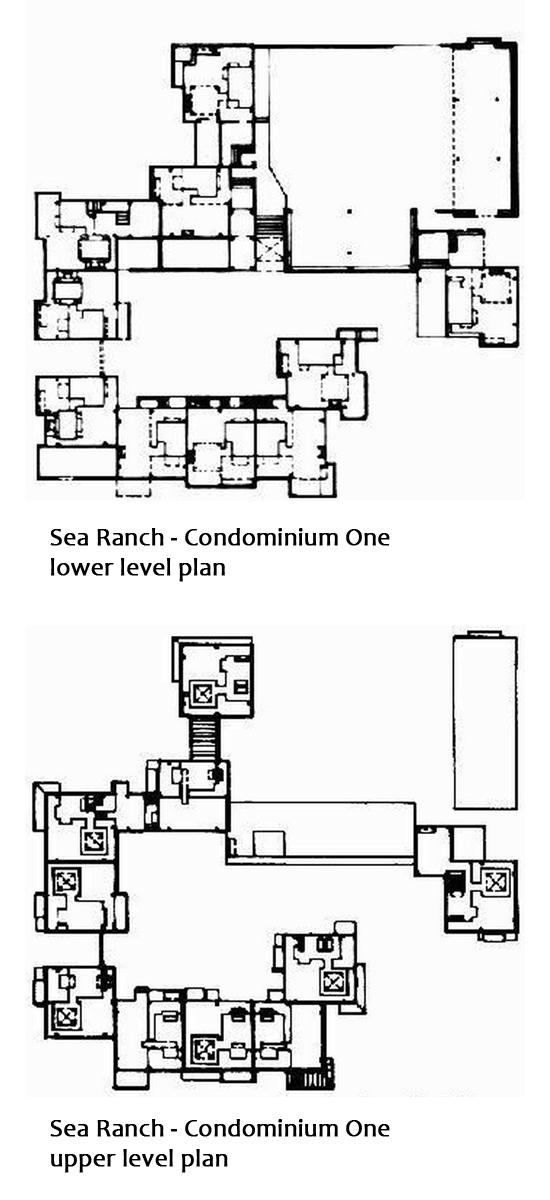 Sea Ranch Condominium One floor plans