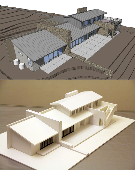 Low Cost Modern House Challenge model by Helena Tse