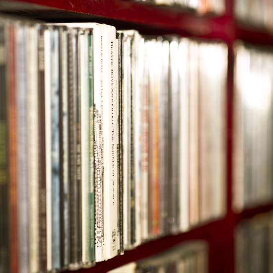 Brad Feinknopf's music library