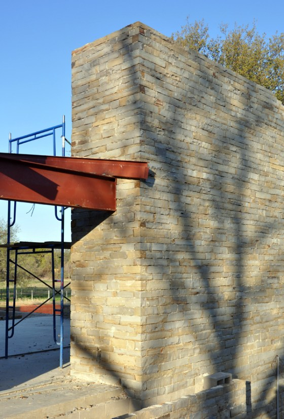 Cottonwood Modern Pavilion wall