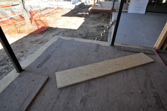 Cottonwood Modern - leveling the subfloor