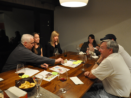 2013 Life of an Architect Playhouse Judging in action