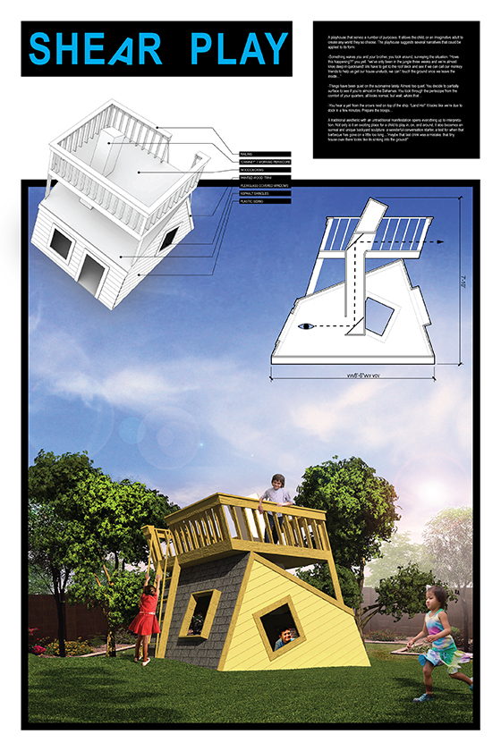 playhouse by Alex Greenhut