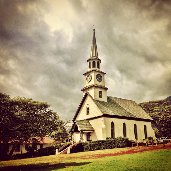 Church at Iao Valley