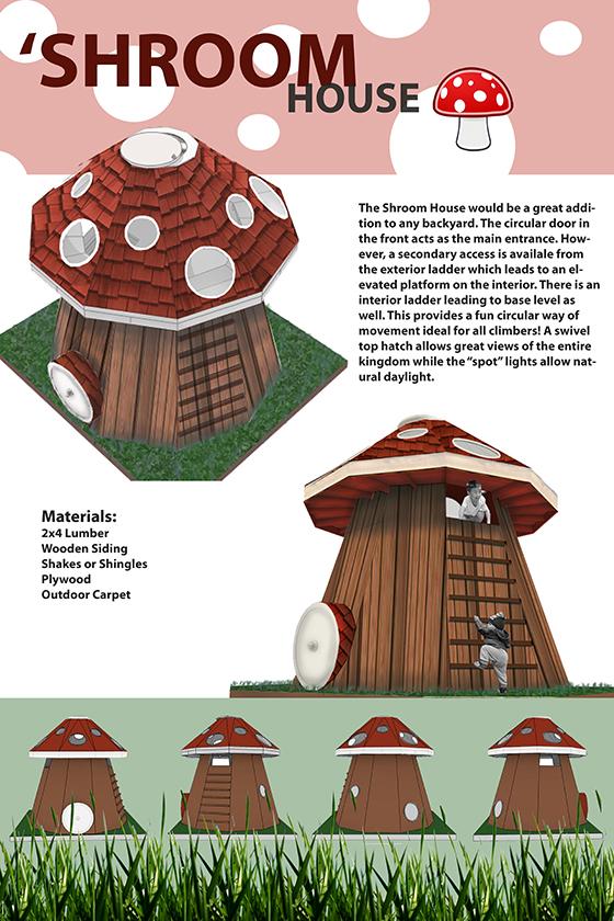 playhouse by Sarah Fox