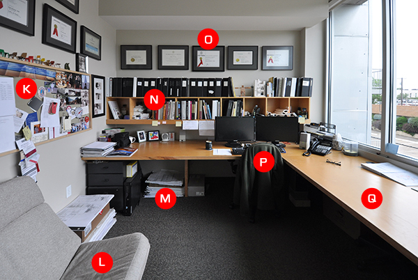 What's on Bob Borson's Desk?