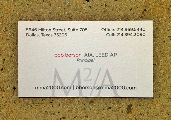Architect Bob Borson contact information