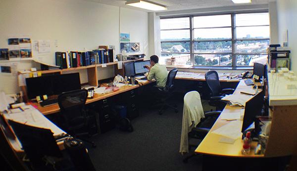 Open Office - the bullpen