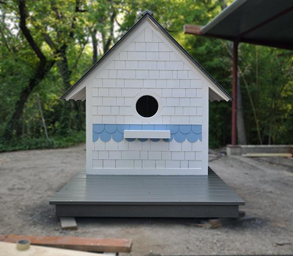 Birdhouse Playhouse from Dallas Architect Bob Borson