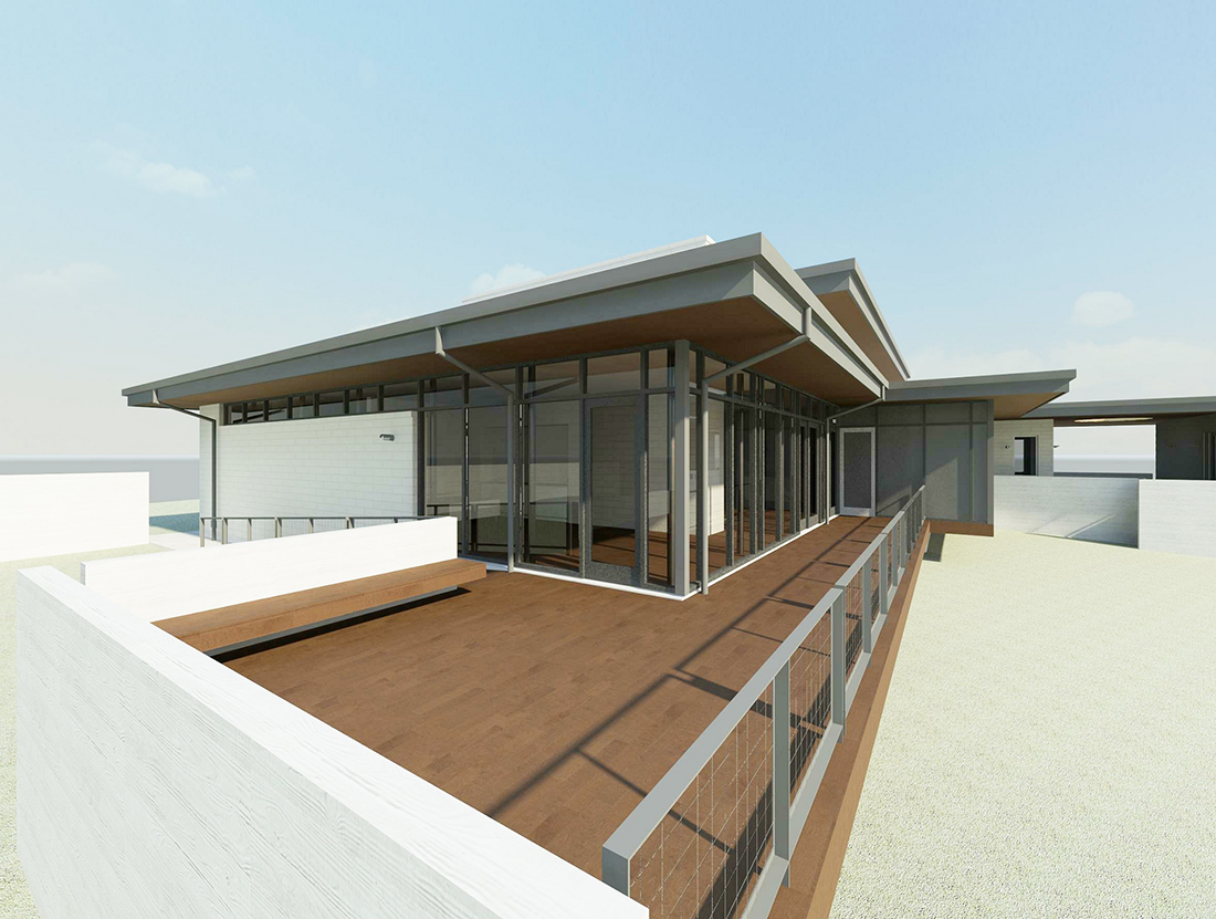 KHouse Modern View at End of Ramp