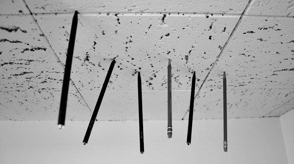 Distraction - Pencils in the ceiling