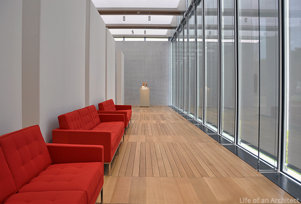 Renzo Piano Kimbell Museum Gallery Seating