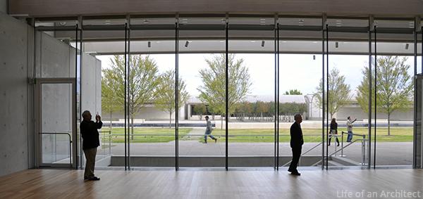 Renzo Piano Kimbell Museum Interior Entry