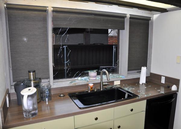 Robbery Kitchen Window