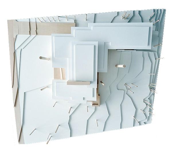 KHouse Modern Architectural model