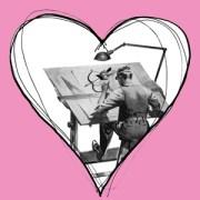 I love you Building – Happy Valentine's Day