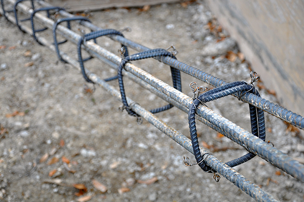pier rebar cages detail