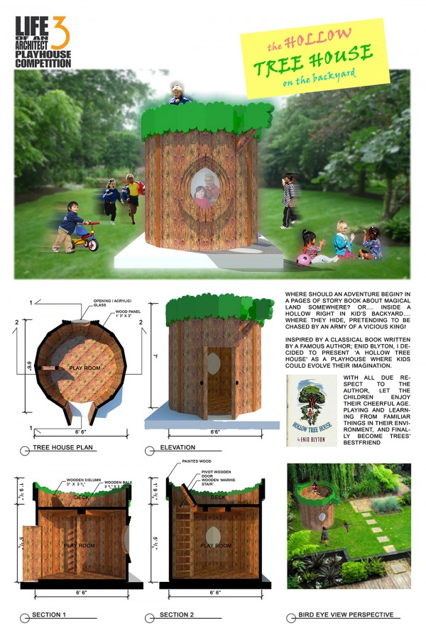 Kania P. Anggriany: The Hollow Tree House