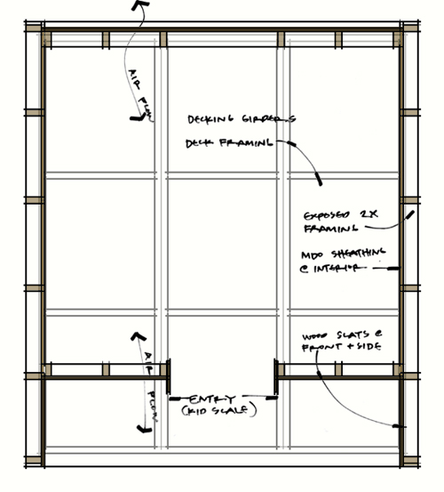 Lantern Playhouse floor plan transparent