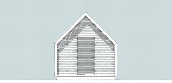 Lantern Playhouse front elevation
