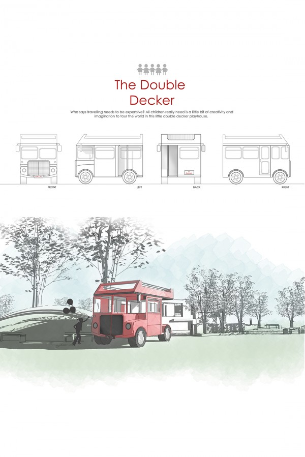 Zarina Ateig: The Double Decker