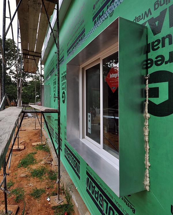 CHouse Aluminum Window Boxes detail view
